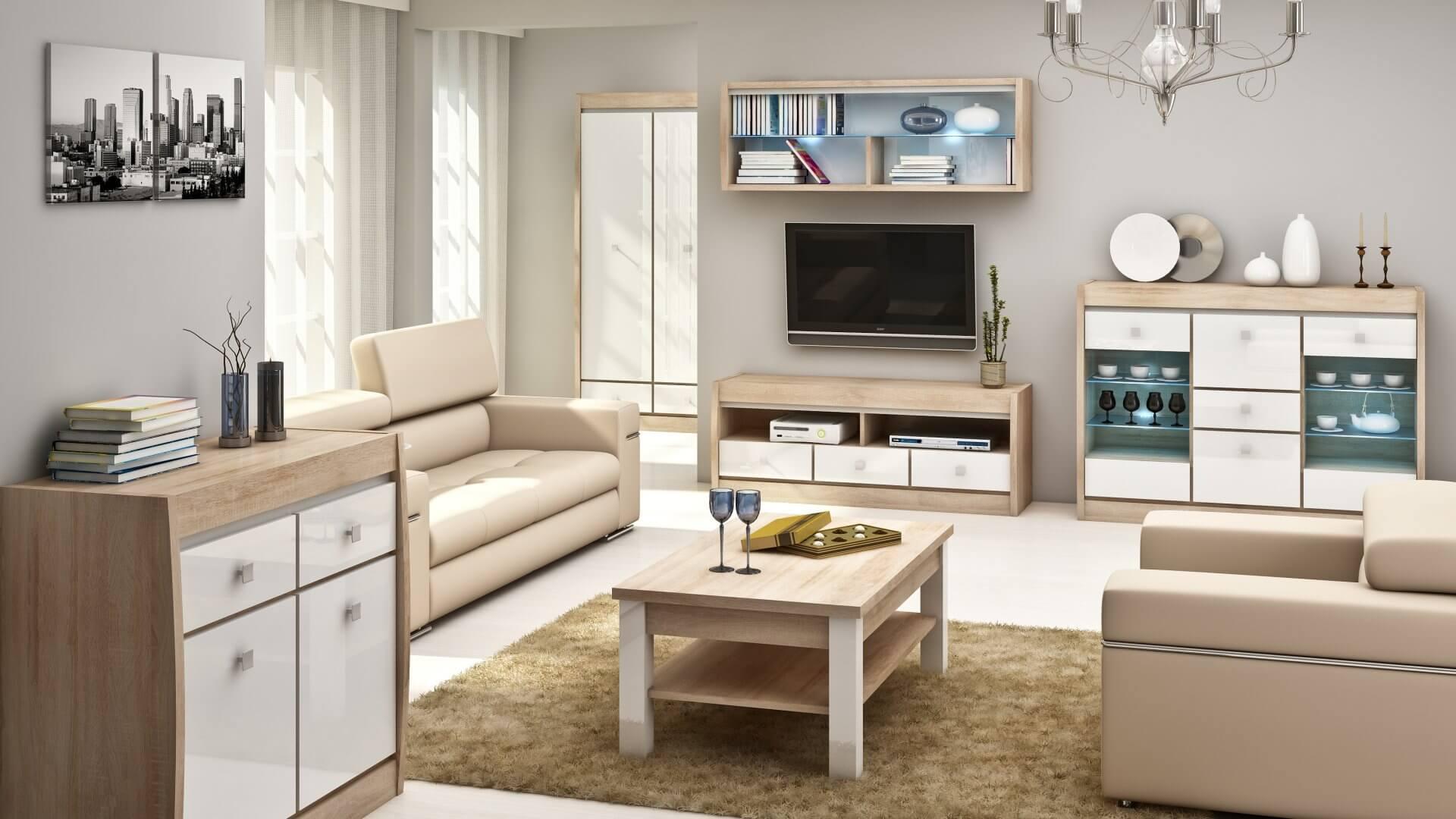 3D Emergency Service - Interior visualization - living room, kitchen ...